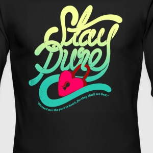 Stay pure blased are the pure - Men's Long Sleeve T-Shirt by Next Level