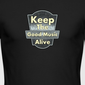 Keep The Good Music Alive Vintage - Men's Long Sleeve T-Shirt by Next Level