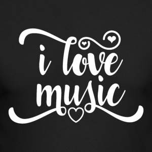 Love Music - Men's Long Sleeve T-Shirt by Next Level
