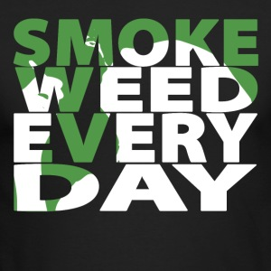 Smoke Weed Every Day - Men's Long Sleeve T-Shirt by Next Level