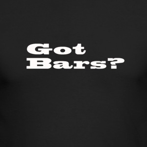 bars - Men's Long Sleeve T-Shirt by Next Level