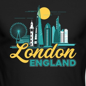 LONDON ENGLAND SHIRT - Men's Long Sleeve T-Shirt by Next Level