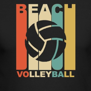 Vintage Beach Volleyball Graphic - Men's Long Sleeve T-Shirt by Next Level