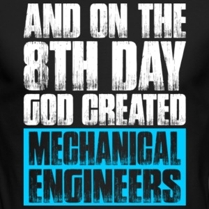 God Created Mechanical Engineers T Shirt - Men's Long Sleeve T-Shirt by Next Level