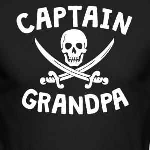 Captain Grandpa Pirate - Men's Long Sleeve T-Shirt by Next Level