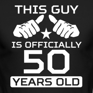 This Guy Is 50 Years Funny 50th Birthday - Men's Long Sleeve T-Shirt by Next Level