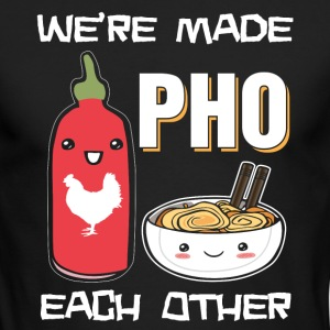 We're made pho each other - Men's Long Sleeve T-Shirt by Next Level