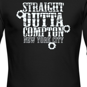 Straight outta compton new york city - Men's Long Sleeve T-Shirt by Next Level