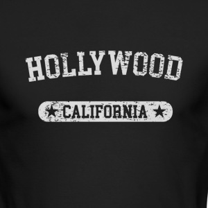 Hollywood California - Men's Long Sleeve T-Shirt by Next Level