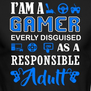 I'm A Gamer Shirt - Men's Long Sleeve T-Shirt by Next Level