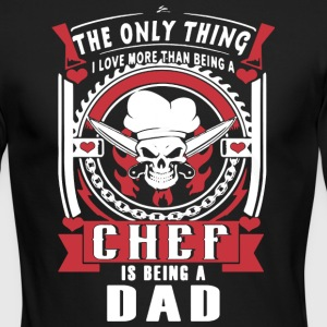 Chef Dad - Men's Long Sleeve T-Shirt by Next Level