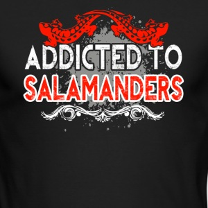 ADDICTED TO SALAMANDERS SHIRT - Men's Long Sleeve T-Shirt by Next Level