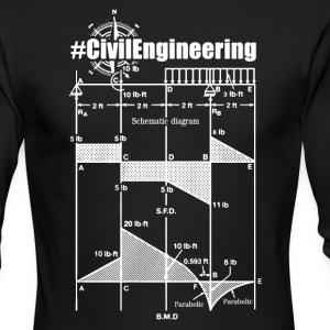Civil Engineering Shirts - Men's Long Sleeve T-Shirt by Next Level