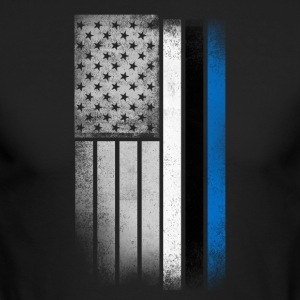 Estonian American Flag - Men's Long Sleeve T-Shirt by Next Level