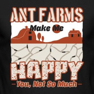 Ant Farm Make Me Happy Shirt - Men's Long Sleeve T-Shirt by Next Level