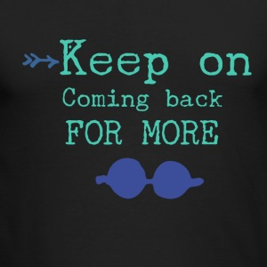 Keep on - Men's Long Sleeve T-Shirt by Next Level
