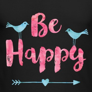 Happy Birds - Men's Long Sleeve T-Shirt by Next Level