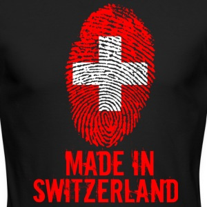 Made in Switzerland / Suiss - Men's Long Sleeve T-Shirt by Next Level