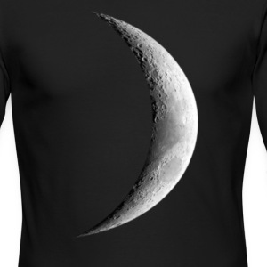 Half Moon - Men's Long Sleeve T-Shirt by Next Level