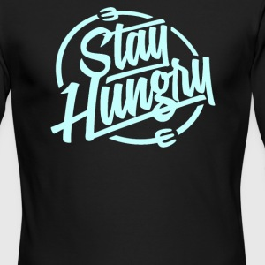 Stay hungry - Men's Long Sleeve T-Shirt by Next Level