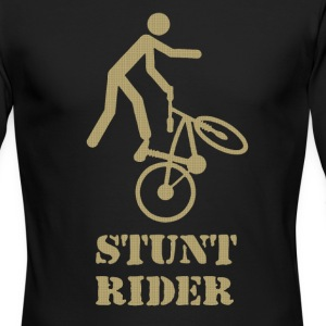 Stunt rider - Men's Long Sleeve T-Shirt by Next Level