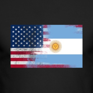 Argentinan American Half Argentina Half America - Men's Long Sleeve T-Shirt by Next Level