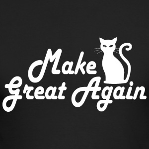 Make Kitty Great Again - Men's Long Sleeve T-Shirt by Next Level