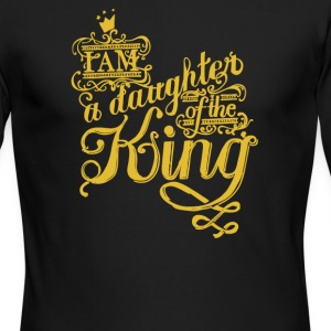 I am a daughter of the king - Men's Long Sleeve T-Shirt by Next Level
