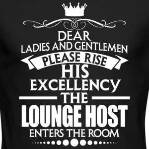 LOUNGE HOST - EXCELLENCY - Men's Long Sleeve T-Shirt by Next Level