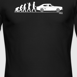 Evolution of Man Ford Capri Mk1 - Men's Long Sleeve T-Shirt by Next Level