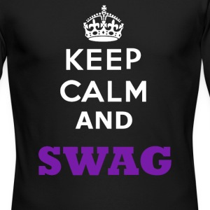 keep calm And Swag - Men's Long Sleeve T-Shirt by Next Level