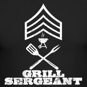 GRILL SERGEANT BBQ BARBECUE SHIRT - Men's Long Sleeve T-Shirt by Next Level