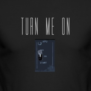 Turn Me On - APU - Men's Long Sleeve T-Shirt by Next Level