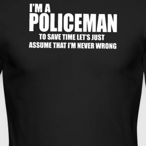 I Am A Policeman - Men's Long Sleeve T-Shirt by Next Level