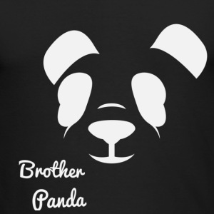Brother Panda - Men's Long Sleeve T-Shirt by Next Level