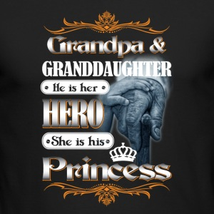 GrandPa and Granddaughter Tshirt - Men's Long Sleeve T-Shirt by Next Level