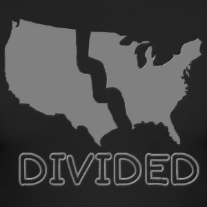 Divided America - Men's Long Sleeve T-Shirt by Next Level