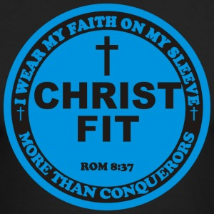 Round Christ Fit label - Men's Long Sleeve T-Shirt by Next Level