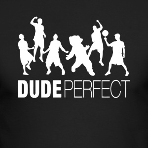 Dude Trick Shots Perfect TShirt - Men's Long Sleeve T-Shirt by Next Level