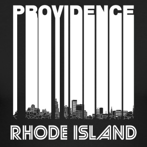 Retro Providence Rhode Island Skyline - Men's Long Sleeve T-Shirt by Next Level