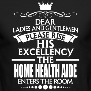 HOME HEALTH AIDE - EXCELLENCY - Men's Long Sleeve T-Shirt by Next Level