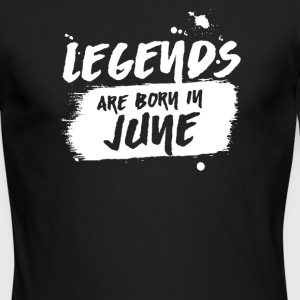 Legends Are Born in June - Men's Long Sleeve T-Shirt by Next Level