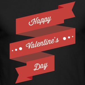 Happy Valentines Day - Men's Long Sleeve T-Shirt by Next Level