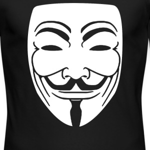 Anonymous Mask - Men's Long Sleeve T-Shirt by Next Level