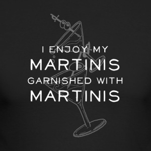 I Like My Martinis Garnished with Martinis - Men's Long Sleeve T-Shirt by Next Level
