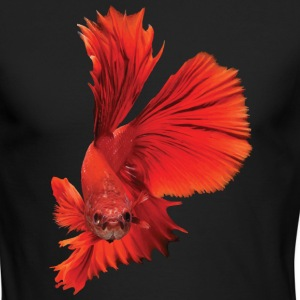 Siamese fighting fish - Men's Long Sleeve T-Shirt by Next Level