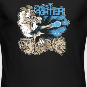 Forest Fighter - Men's Long Sleeve T-Shirt by Next Level