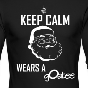 santasgoatee - Men's Long Sleeve T-Shirt by Next Level