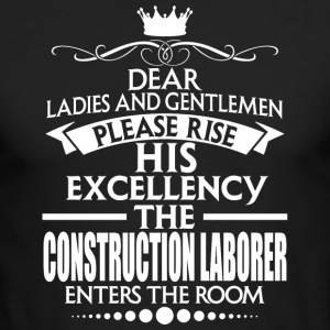 CONSTRUCTION LABORER - EXCELLENCY - Men's Long Sleeve T-Shirt by Next Level