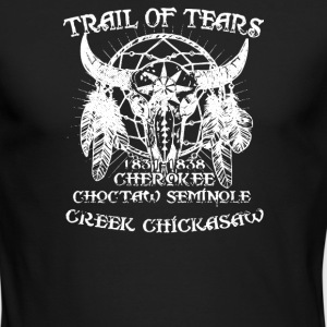 TRAIL OF TEARS - Men's Long Sleeve T-Shirt by Next Level
